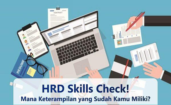 Keterampilan Profesi HRD, Check!