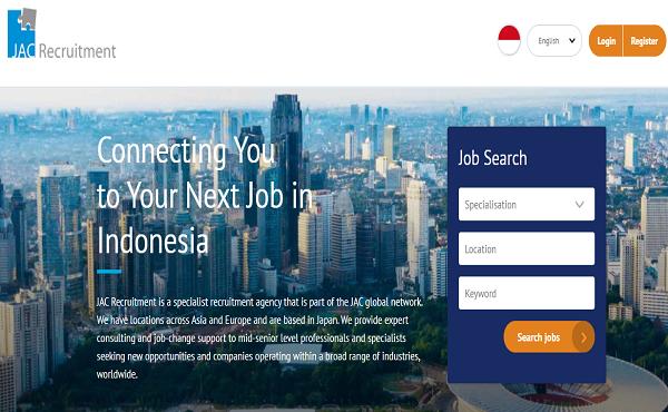 Daftar Recruitment Agency JAC Recruitment Indonesia