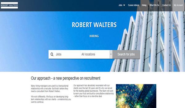 Daftar Recruitment Agency Robert Walters