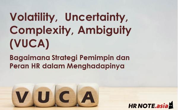 VUCA: Strategi Pemimpin dan Peran HR dalam Menghadapinya