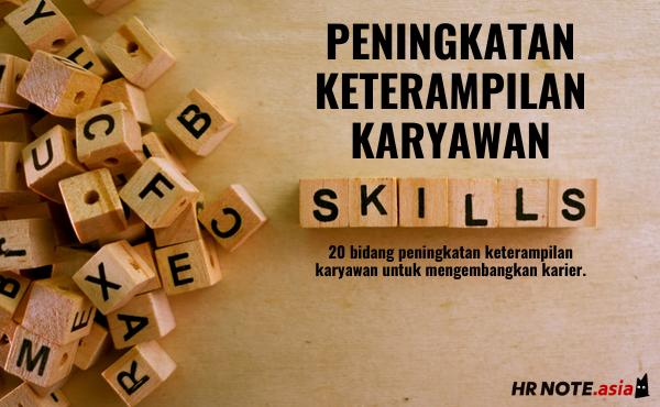 20 Bidang Peningkatan Keterampilan Karyawan