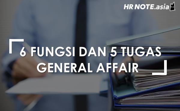 6 Fungsi General Affair Di Perusahaan